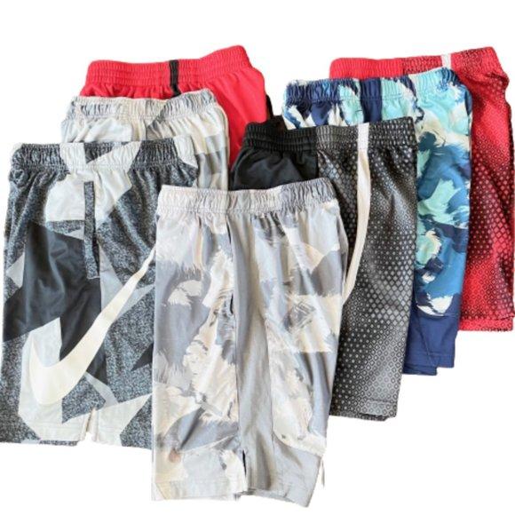 Nike Boy's Athletic Shorts (Lot of 7) - Large